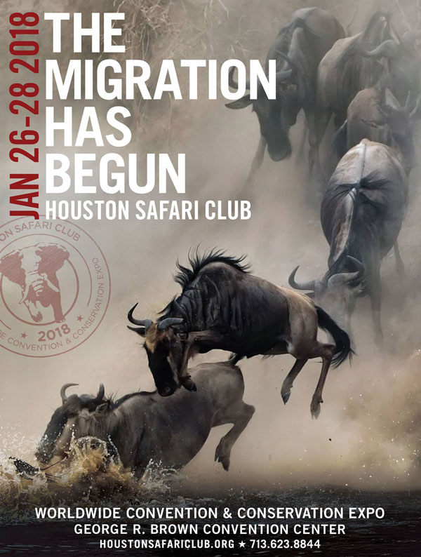 2018 Houston Safari Club Annual Worldwide Hunting Expo